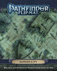 Spirit Games (Est. 1984) - Supplying role playing games (RPG), wargames rules, miniatures and scenery, new and traditional board and card games for the last 20 years sells Pathfinder Flip-Mat: Sunken City