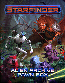 Spirit Games (Est. 1984) - Supplying role playing games (RPG), wargames rules, miniatures and scenery, new and traditional board and card games for the last 20 years sells Starfinder Pawns: Alien Archive