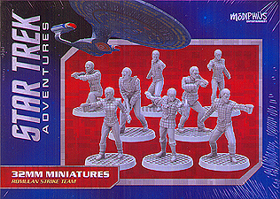Spirit Games (Est. 1984) - Supplying role playing games (RPG), wargames rules, miniatures and scenery, new and traditional board and card games for the last 20 years sells Star Trek Adventures: Romulan Strike Team