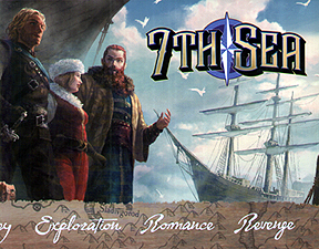 Spirit Games (Est. 1984) - Supplying role playing games (RPG), wargames rules, miniatures and scenery, new and traditional board and card games for the last 20 years sells 7th Sea Gamemaster Screen