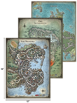 Spirit Games (Est. 1984) - Supplying role playing games (RPG), wargames rules, miniatures and scenery, new and traditional board and card games for the last 20 years sells Game Mat: Tomb of Annihilation Game Map Set