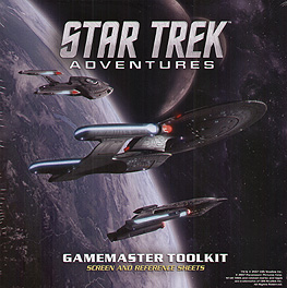 Spirit Games (Est. 1984) - Supplying role playing games (RPG), wargames rules, miniatures and scenery, new and traditional board and card games for the last 20 years sells Star Trek Adventures: Gamemaster Toolkit