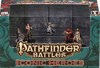 Spirit Games (Est. 1984) - Supplying role playing games (RPG), wargames rules, miniatures and scenery, new and traditional board and card games for the last 20 years sells Pathfinder Battles: Iconic Heroes Set 8