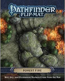 Spirit Games (Est. 1984) - Supplying role playing games (RPG), wargames rules, miniatures and scenery, new and traditional board and card games for the last 20 years sells Pathfinder Flip-Mat: Forest Fire