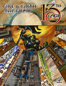 Spirit Games (Est. 1984) - Supplying role playing games (RPG), wargames rules, miniatures and scenery, new and traditional board and card games for the last 20 years sells Fire and Faith Map Folio