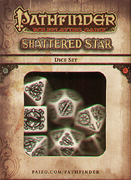 Spirit Games (Est. 1984) - Supplying role playing games (RPG), wargames rules, miniatures and scenery, new and traditional board and card games for the last 20 years sells Pathfinder Shattered Star Dice Set