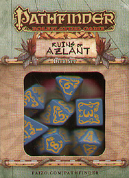 Spirit Games (Est. 1984) - Supplying role playing games (RPG), wargames rules, miniatures and scenery, new and traditional board and card games for the last 20 years sells Pathfinder Ruins of Azlant Dice Set