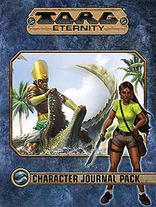Spirit Games (Est. 1984) - Supplying role playing games (RPG), wargames rules, miniatures and scenery, new and traditional board and card games for the last 20 years sells Torg Eternity: Character Journal Pack