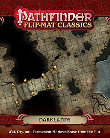 Spirit Games (Est. 1984) - Supplying role playing games (RPG), wargames rules, miniatures and scenery, new and traditional board and card games for the last 20 years sells Pathfinder Flip-Mat Classics: Darklands