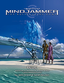 Spirit Games (Est. 1984) - Supplying role playing games (RPG), wargames rules, miniatures and scenery, new and traditional board and card games for the last 20 years sells Mindjammer: Blue