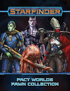 Spirit Games (Est. 1984) - Supplying role playing games (RPG), wargames rules, miniatures and scenery, new and traditional board and card games for the last 20 years sells Starfinder Pawns: Pact Worlds Pawn Collection