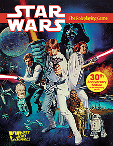 Spirit Games (Est. 1984) - Supplying role playing games (RPG), wargames rules, miniatures and scenery, new and traditional board and card games for the last 20 years sells Star Wars: The Roleplaying Game 30th Anniversary Edition<br> (Slipcase)