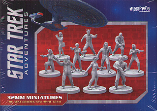 Spirit Games (Est. 1984) - Supplying role playing games (RPG), wargames rules, miniatures and scenery, new and traditional board and card games for the last 20 years sells Star Trek Adventures: The Next Generation Away Team