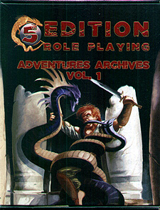 Spirit Games (Est. 1984) - Supplying role playing games (RPG), wargames rules, miniatures and scenery, new and traditional board and card games for the last 20 years sells 5th Edition Role Playing: Adventures Archives Vol. 1