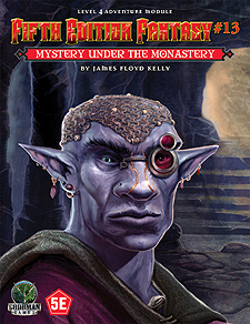 Spirit Games (Est. 1984) - Supplying role playing games (RPG), wargames rules, miniatures and scenery, new and traditional board and card games for the last 20 years sells Fifth Edition Fantasy #13: Mystery Under the Monastery