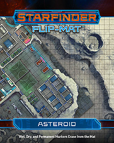 Spirit Games (Est. 1984) - Supplying role playing games (RPG), wargames rules, miniatures and scenery, new and traditional board and card games for the last 20 years sells Starfinder Flip-Mat: Asteroid