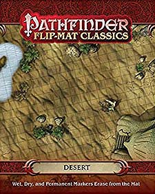 Spirit Games (Est. 1984) - Supplying role playing games (RPG), wargames rules, miniatures and scenery, new and traditional board and card games for the last 20 years sells Pathfinder Flip-Mat Classics: Desert
