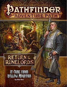Spirit Games (Est. 1984) - Supplying role playing games (RPG), wargames rules, miniatures and scenery, new and traditional board and card games for the last 20 years sells Adventure Path 134: Return of the Runelords (2 of 6) - It Came From Hollow Mountain