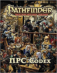 Spirit Games (Est. 1984) - Supplying role playing games (RPG), wargames rules, miniatures and scenery, new and traditional board and card games for the last 20 years sells Pathfinder RPG NPC Codex Pocket Edition