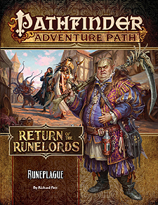 Spirit Games (Est. 1984) - Supplying role playing games (RPG), wargames rules, miniatures and scenery, new and traditional board and card games for the last 20 years sells Adventure Path 135: Return of the Runelords (3 of 6) - Runeplague