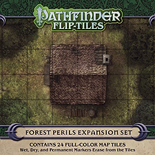 Spirit Games (Est. 1984) - Supplying role playing games (RPG), wargames rules, miniatures and scenery, new and traditional board and card games for the last 20 years sells Pathfinder Flip-Tiles: Forest Perils Expansion