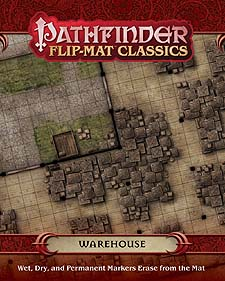 Spirit Games (Est. 1984) - Supplying role playing games (RPG), wargames rules, miniatures and scenery, new and traditional board and card games for the last 20 years sells Pathfinder Flip-Mat Classics: Warehouse