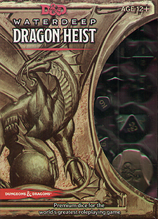 Spirit Games (Est. 1984) - Supplying role playing games (RPG), wargames rules, miniatures and scenery, new and traditional board and card games for the last 20 years sells Waterdeep Dragon Heist Dice Set
