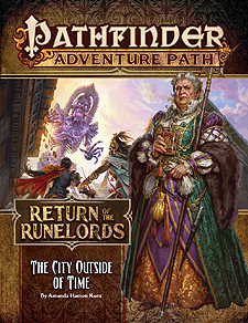 Spirit Games (Est. 1984) - Supplying role playing games (RPG), wargames rules, miniatures and scenery, new and traditional board and card games for the last 20 years sells Adventure Path 137: Return of the Runelords (5 of 6) - The City Outside of Time