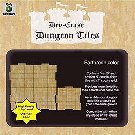 Spirit Games (Est. 1984) - Supplying role playing games (RPG), wargames rules, miniatures and scenery, new and traditional board and card games for the last 20 years sells Dry-Erase Dungeon Tiles Earthtone