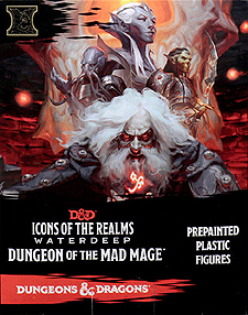 Spirit Games (Est. 1984) - Supplying role playing games (RPG), wargames rules, miniatures and scenery, new and traditional board and card games for the last 20 years sells Icons of the Realms: Waterdeep Dungeon of the Mad Mage Booster