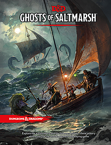 Spirit Games (Est. 1984) - Supplying role playing games (RPG), wargames rules, miniatures and scenery, new and traditional board and card games for the last 20 years sells Dungeons and Dragons: Ghosts of Saltmarsh (5th Ed)