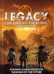 Spirit Games (Est. 1984) - Supplying role playing games (RPG), wargames rules, miniatures and scenery, new and traditional board and card games for the last 20 years sells Legacy: Life Among the Ruins 2nd Edition