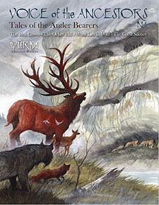 Spirit Games (Est. 1984) - Supplying role playing games (RPG), wargames rules, miniatures and scenery, new and traditional board and card games for the last 20 years sells Voice of the Ancestors No 1: Tales of the Antler Bearers
