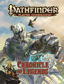 Spirit Games (Est. 1984) - Supplying role playing games (RPG), wargames rules, miniatures and scenery, new and traditional board and card games for the last 20 years sells Pathfinder Player Companion: Chronicle of Legends