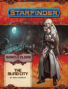 Spirit Games (Est. 1984) - Supplying role playing games (RPG), wargames rules, miniatures and scenery, new and traditional board and card games for the last 20 years sells Adventure Path 16: Dawn of Flame (4 of 6) - The Blind City