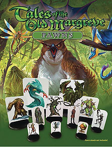 Spirit Games (Est. 1984) - Supplying role playing games (RPG), wargames rules, miniatures and scenery, new and traditional board and card games for the last 20 years sells Tales of the Old Margreve: Pawns