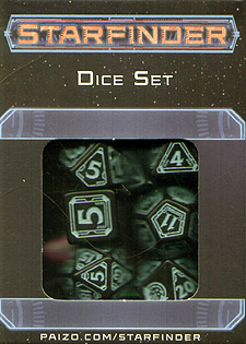 Spirit Games (Est. 1984) - Supplying role playing games (RPG), wargames rules, miniatures and scenery, new and traditional board and card games for the last 20 years sells Starfinder Dice Set