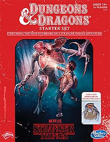 Spirit Games (Est. 1984) - Supplying role playing games (RPG), wargames rules, miniatures and scenery, new and traditional board and card games for the last 20 years sells Dungeons and Dragons: Stranger Things Starter Set (5th Ed)