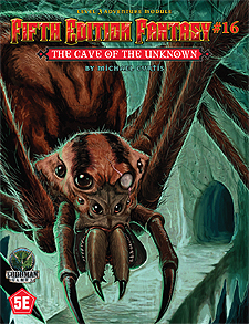 Spirit Games (Est. 1984) - Supplying role playing games (RPG), wargames rules, miniatures and scenery, new and traditional board and card games for the last 20 years sells Fifth Edition Fantasy #16: The Cave of the Unknown