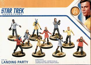 Spirit Games (Est. 1984) - Supplying role playing games (RPG), wargames rules, miniatures and scenery, new and traditional board and card games for the last 20 years sells Star Trek Adventures: Landing Party