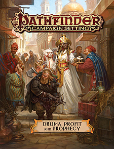 Spirit Games (Est. 1984) - Supplying role playing games (RPG), wargames rules, miniatures and scenery, new and traditional board and card games for the last 20 years sells Pathfinder Campaign Setting: Druma, Profit and Prophecy