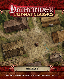 Spirit Games (Est. 1984) - Supplying role playing games (RPG), wargames rules, miniatures and scenery, new and traditional board and card games for the last 20 years sells Pathfinder Flip-Mat Classics: Hamlet