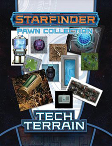 Spirit Games (Est. 1984) - Supplying role playing games (RPG), wargames rules, miniatures and scenery, new and traditional board and card games for the last 20 years sells Starfinder Pawns: Tech Terrain Pawn Collection