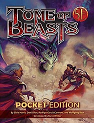 Spirit Games (Est. 1984) - Supplying role playing games (RPG), wargames rules, miniatures and scenery, new and traditional board and card games for the last 20 years sells Tome of Beasts Pocket Edition