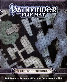 Spirit Games (Est. 1984) - Supplying role playing games (RPG), wargames rules, miniatures and scenery, new and traditional board and card games for the last 20 years sells Pathfinder Flip-Mat: Bigger Flooded Dungeon