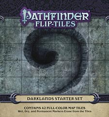 Spirit Games (Est. 1984) - Supplying role playing games (RPG), wargames rules, miniatures and scenery, new and traditional board and card games for the last 20 years sells Pathfinder Flip-Tiles: Darklands Starter Set
