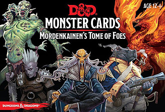 Spirit Games (Est. 1984) - Supplying role playing games (RPG), wargames rules, miniatures and scenery, new and traditional board and card games for the last 20 years sells Monster Cards: Mordenkainen
