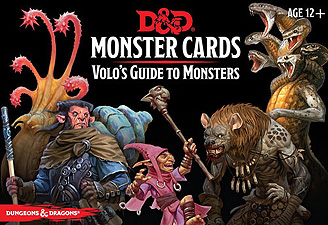 Spirit Games (Est. 1984) - Supplying role playing games (RPG), wargames rules, miniatures and scenery, new and traditional board and card games for the last 20 years sells Monster Cards: Volo