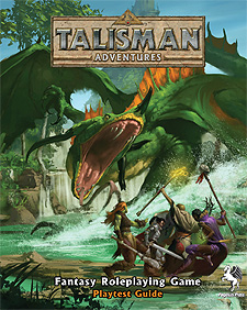 Spirit Games (Est. 1984) - Supplying role playing games (RPG), wargames rules, miniatures and scenery, new and traditional board and card games for the last 20 years sells Talisman Adventures: Playtest Guide