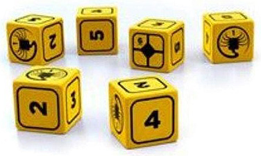 Spirit Games (Est. 1984) - Supplying role playing games (RPG), wargames rules, miniatures and scenery, new and traditional board and card games for the last 20 years sells Alien Stress Dice Set